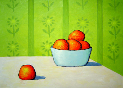 Still Life with incomprehensible fruit