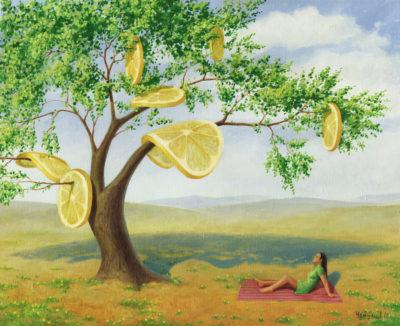 Лимонное дерево. Весна
