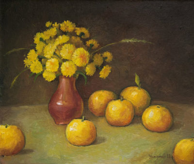 Натюрморт с желтым