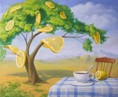 Лимонное дерево. Полдник