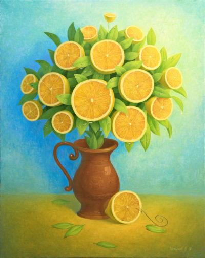 Лимонный букет 2