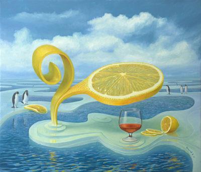 Лимон на льдине II