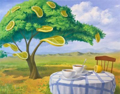 Лимонное дерево. Полдень